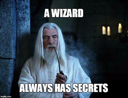 Key secrets