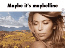 Born this way, Maybelline