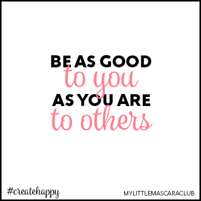 Be as good to you as you are to others