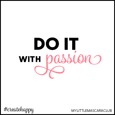 Do it with passion