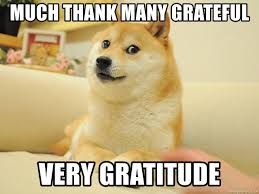 MUCh Thank many grateful Very gratitude - so doge | Meme Generator
