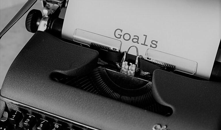 Q: How do I set goals and stick to them?